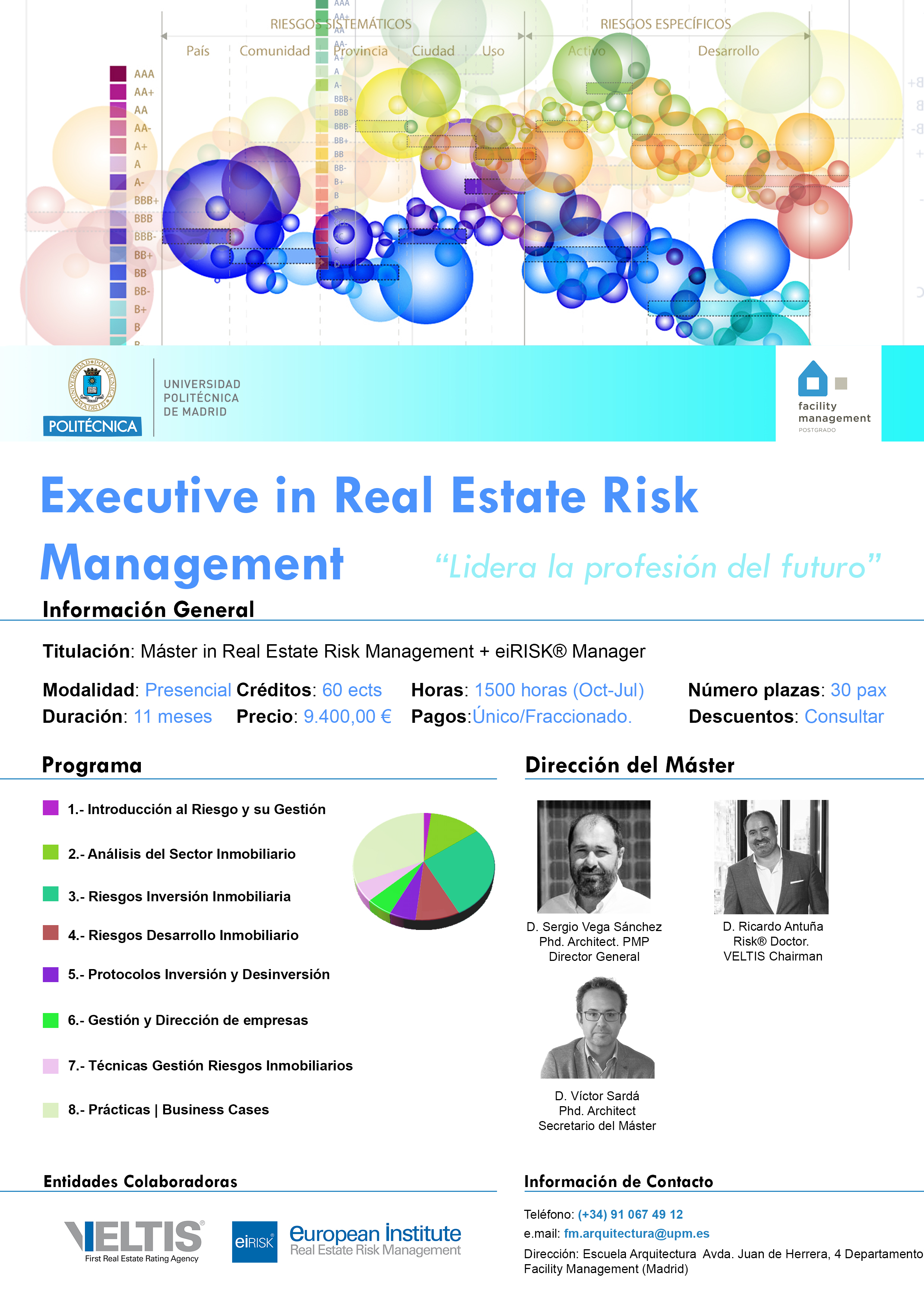 Ficha Técnica Máster Executive Real Estate Risk Management